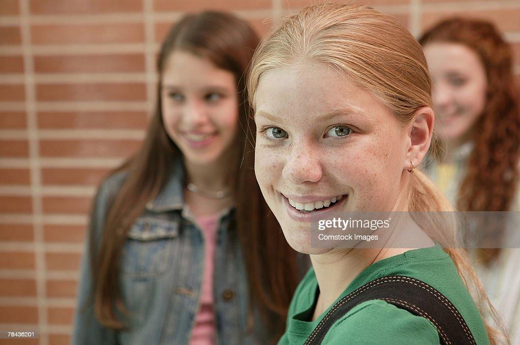 Teenage girls : Stockfoto
