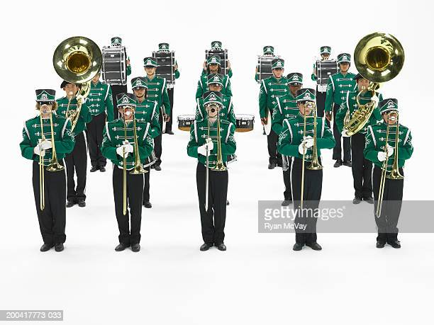 Teenage (14-18) marching band