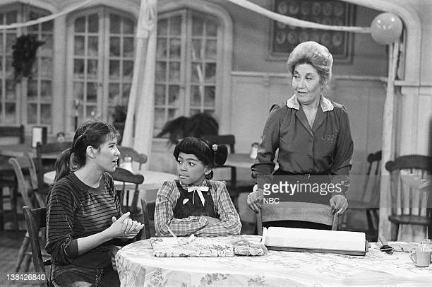 LIFE Teenage Marriage Part 2 Episode 8 Pictured Nancy McKeon as Joanne 'Jo' Polniaczek Bonner Kim Fields as Dorothy 'Tootie' Ramsey and Charolette...