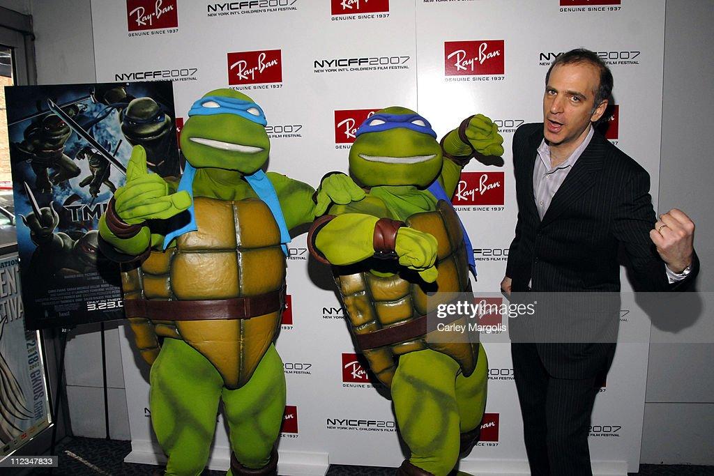 Teenage Mutant Ninja Turtles and Eric Beckman, founder of NYICC