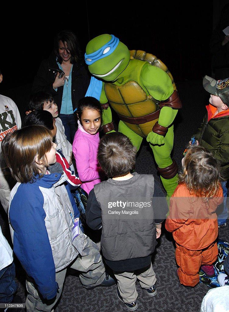 Teenage Mutant Ninja Turtles - Atmosphere during New York International Children's Film Festival 2007 - 'TMNT' Screening in New York City, New York, United States.