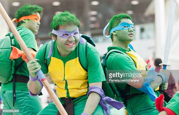 Teenage Mutant Ninja Turtles Cosplayers