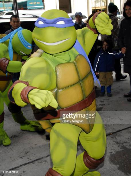 Teenage Mutant Ninja Turtles during New York International Children's Film Festival 2007 'TMNT' Screening in New York City New York United States