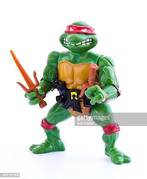 adolescente mutante ninja tortugas-figura - ninja fotografías e imágenes de stock