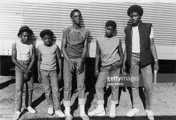 Teenage reggae group Musical Youth circa 1983 As well as vocalist Dennis Seaton the group comprised two pairs of brothers Michael and Kelvin Grant...