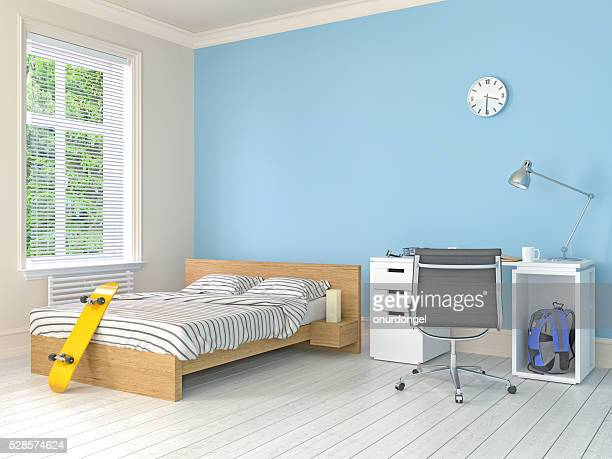 teenage room - domestic room stock pictures, royalty-free photos & images