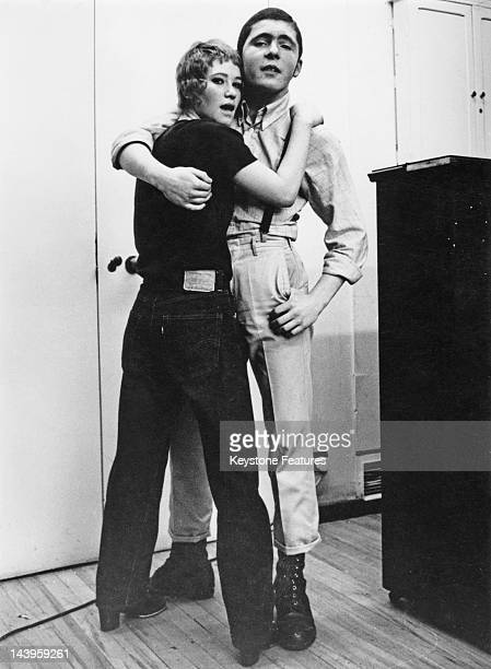 A teenage skinhead couple 7th February 1970