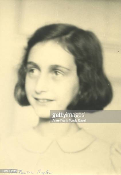 Teenaged diarist Anne Frank circa 1940