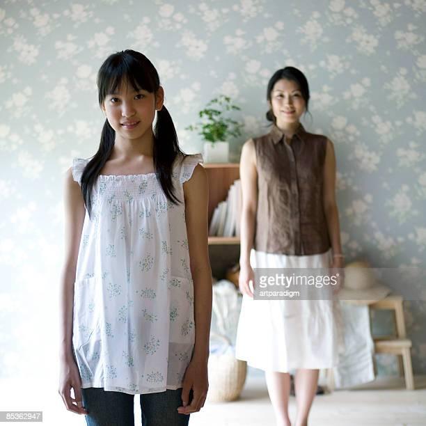 Teenagegirl and her mother