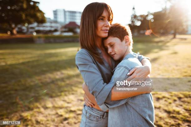 60 Top Mom Son Hug Sad Pictures, Photos,  Images - Getty Images-1076