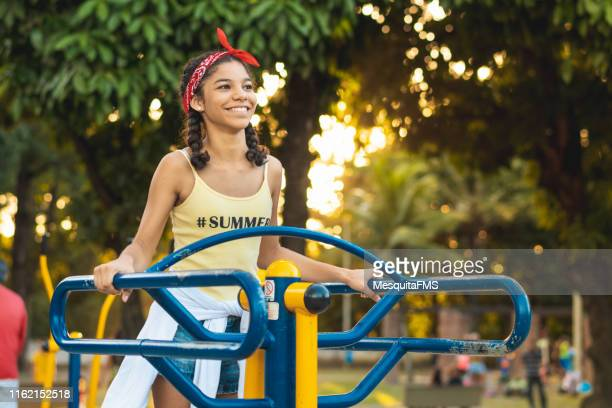 teenager enjoying the holiday - thin stock pictures, royalty-free photos & images