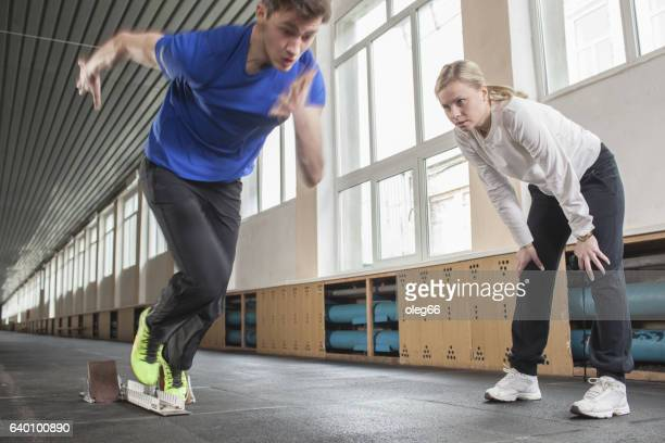teenager involved in sports - sprint stock pictures, royalty-free photos & images