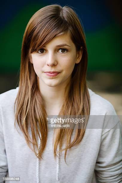 Adolescent portrait