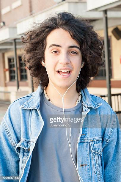 Teenager Smiling