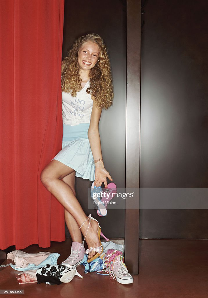 Teenager In High Heels
