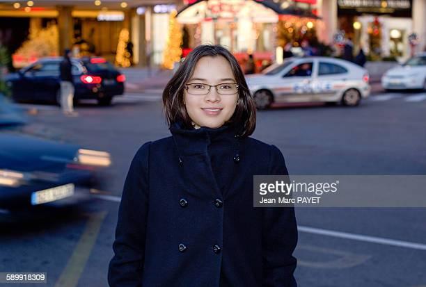 teenager, street portrait - jean marc payet stockfoto's en -beelden