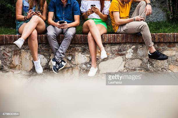 Teenagers addiction to smart phones and social media