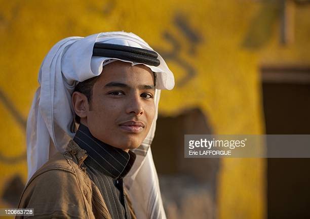 Teenagers in Asir Saudi Arabia on January 18 2010