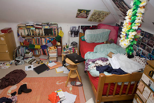 UK - London - Messy Teenager's Room Pictures