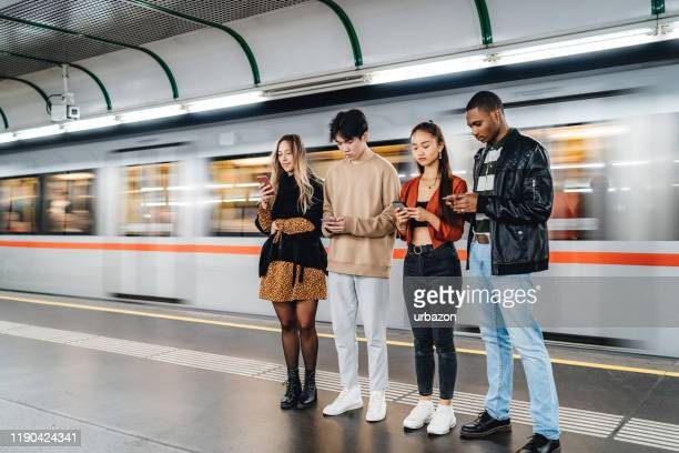 teenagers social issues - transportation building type of building stock photos and pictures