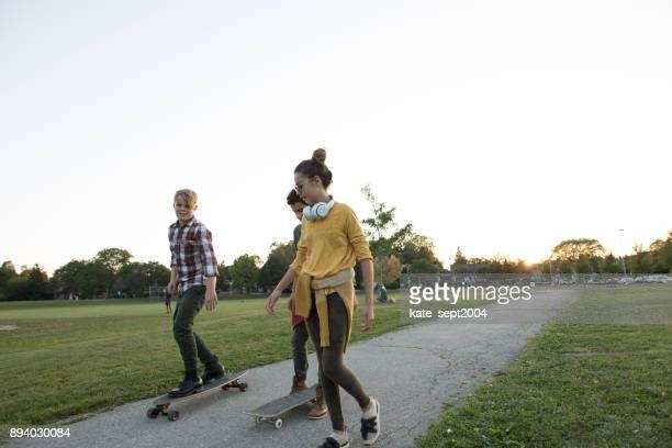 Teenager Spaß haben