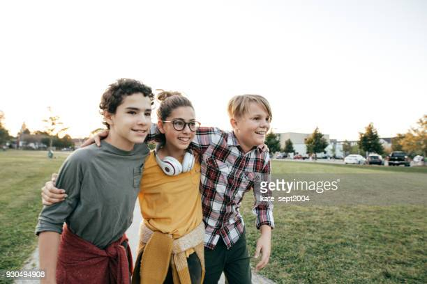 teens having fun - teenager stock pictures, royalty-free photos & images