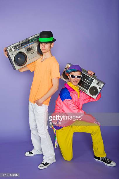Teens with Boom Boxes