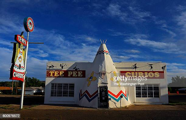 TeePee Curios is a funky souvenir shop with a great history and beautiful neon in Tucumcari NM The famed Route 66 starts in Chicago Illinois and ends...