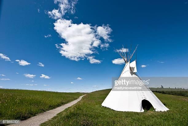 Teepee on the Prairie