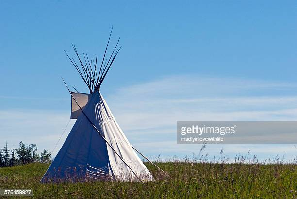 Teepee on the Prairies