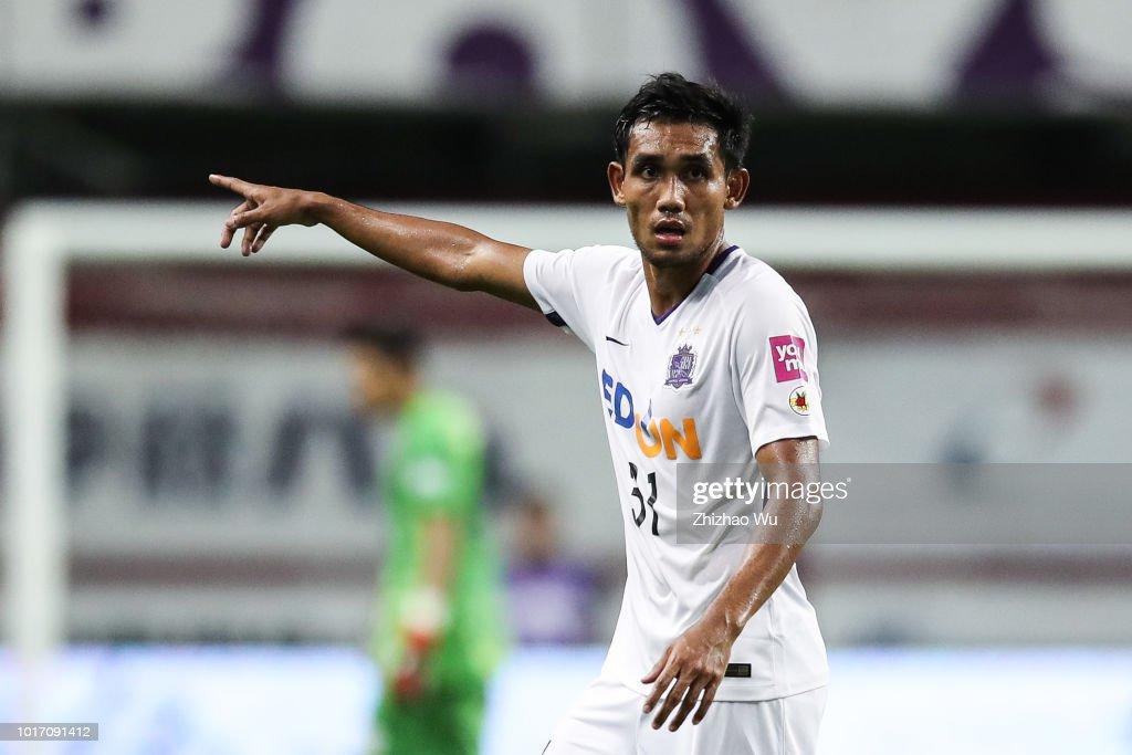 Vissel Kobe v Sanfrecce Hiroshima - J.League J1 : ニュース写真
