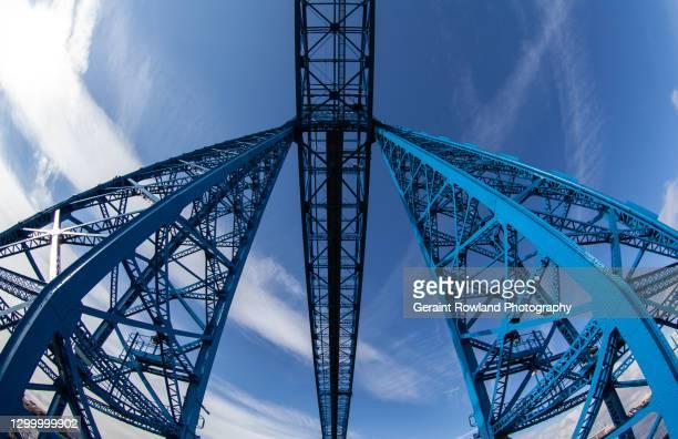 tees transporter bridge - awe stock pictures, royalty-free photos & images