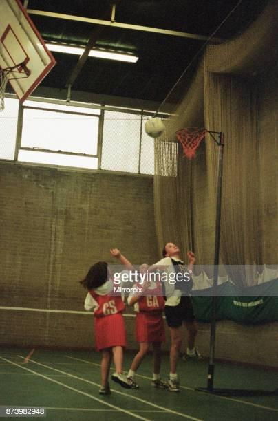 Teesside Junior Netball League at Brackenhoe School, Middlesbrough, 21st September 1998. The Dene v Castaways and Keldholme v Longlands .