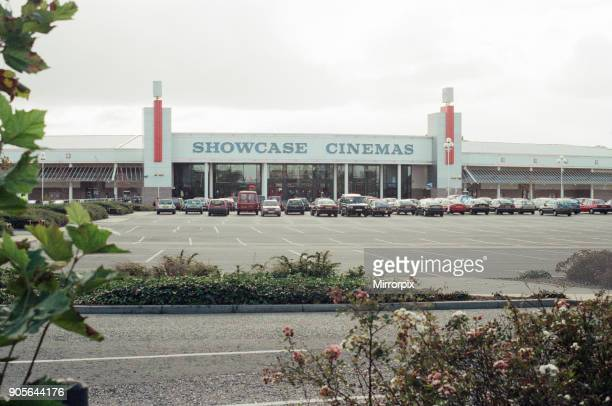 Teesside Retail Park and Leisure Centre split between the unity authorities of StocktononTees and Middlesbrough 20th October 1997 Showcase Cinemas