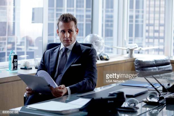 """Teeth, Nose, Teeth"""" Episode 613 -- Pictured: Gabriel Macht as Harvey Specter --"""