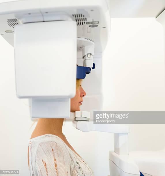 teeth scan at the dentist