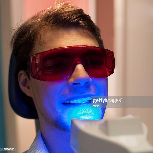 Dientes blanqueamiento Dental proceso médico