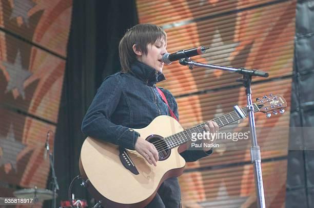 Tegan and Sara at Farm Aid at the White River Ampitheater Seattle Washington September 18 2004