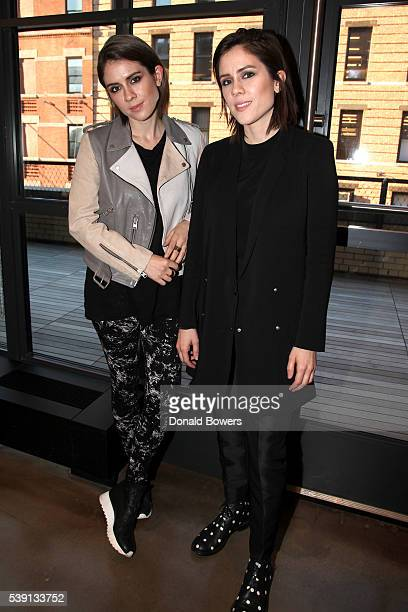 Tegan And Sara Kick Off Samsung 837's Live@837 NYC Concert Series At The Experiential Flagship In Meatpacking District at Samsung 837 on June 9 2016...