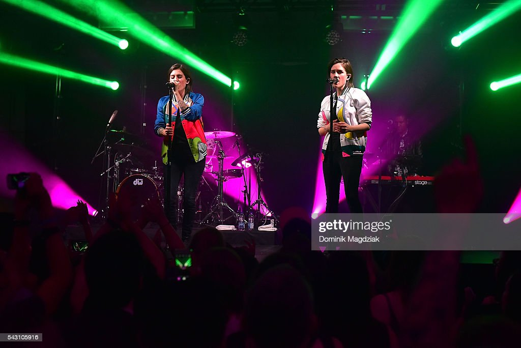 Tegan And Sara Featuring JR JR Play Private Show For Fans & Hilton HHonors Members As Part Of 2016 Hilton Concert Series