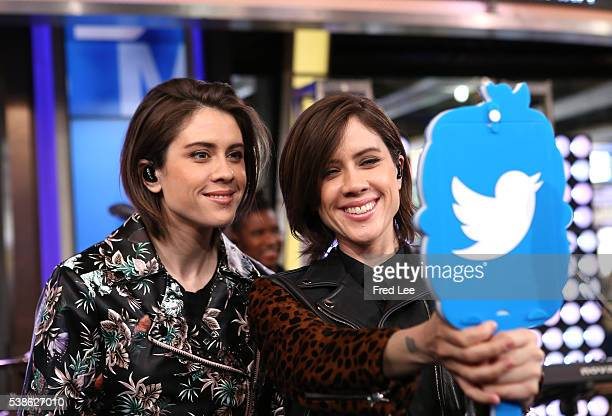 AMERICA Tegan and Sara perform live on 'Good Morning America' 6/6/16 airing on the ABC Television Network TEGAN