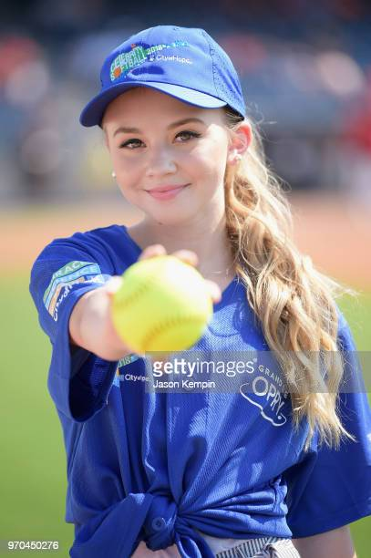 Tegan Marie arrives at the 28th Annual City of Hope Celebrity Softball Game on June 9 2018 in Nashville Tennessee