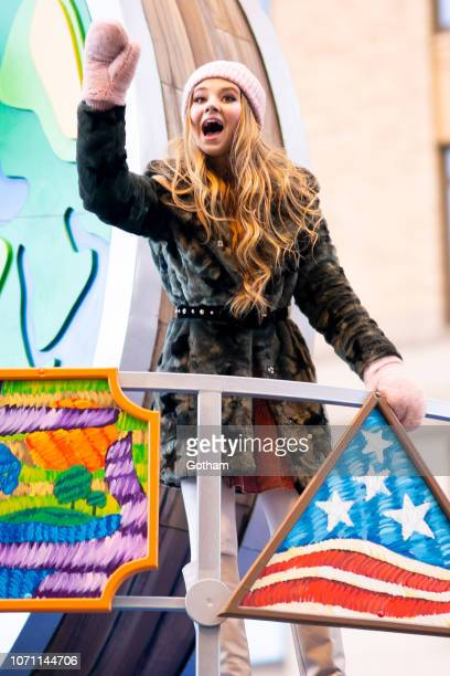 Tegan Marie attends the 2018 Macy's Thanksgiving Day Parade on November 22 2018 in New York City