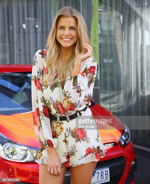 Tegan Martin attends the Holden Spark launch brunch on May 4 2016 in Sydney Australia