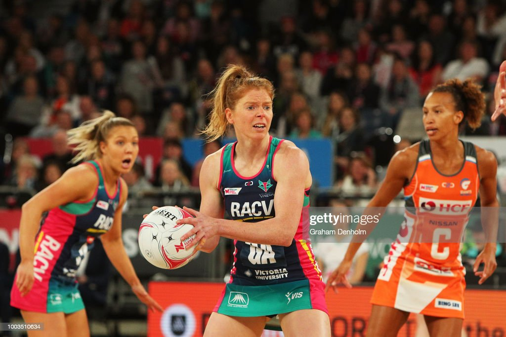 Super Netball Rd 12 - Vixens v Giants
