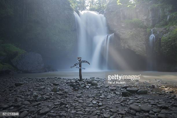Tegenungan Waterfall is a beautiful waterfall located in plateau area and it is one of places of interest of Bali