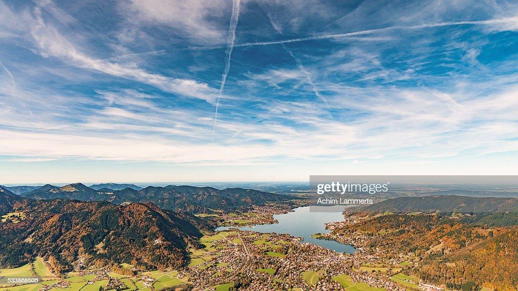 Tegernsee : Stockfoto