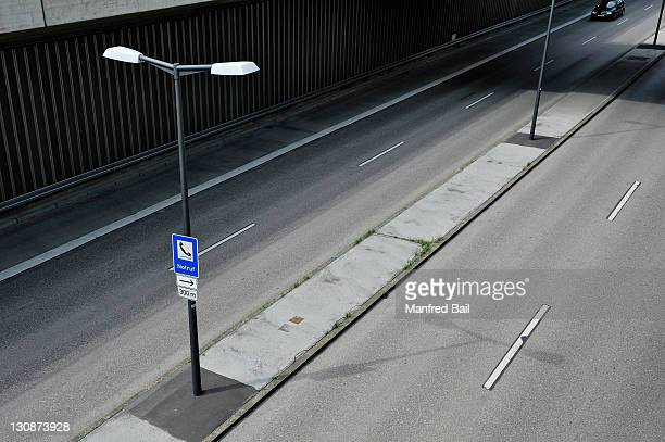 Tegernseer Landstrasse, lowered road, Harlaching, Munich, Bavaria, Germany, Europe