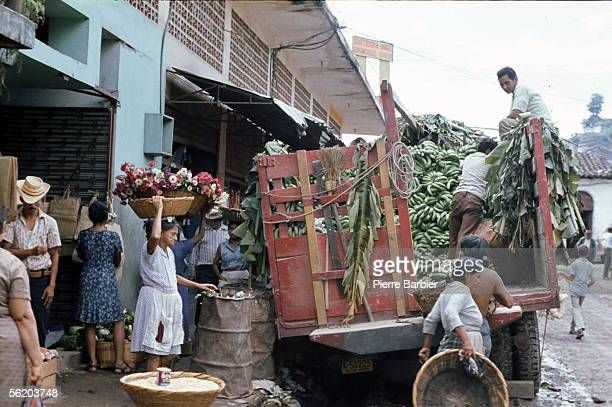 Tegucigalpa . Delivery on the market. 1980.