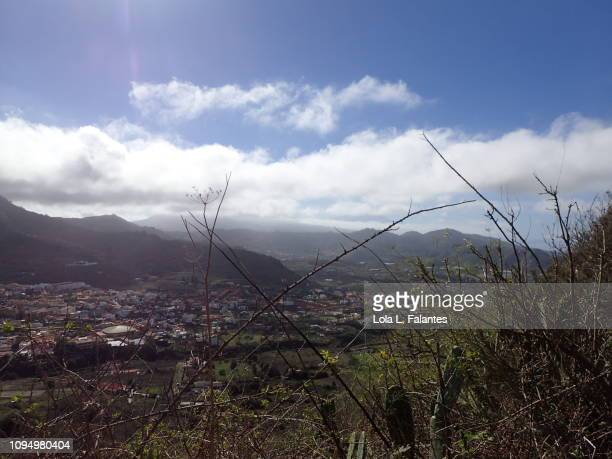 Tegueste's view from Anaga mountains, Tenerife